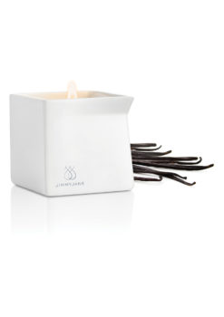 Dark Vanilla Massage Candle by Jimmy Jane