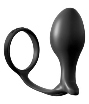 Large Anal Fantasy Cock Ring Plug by Pipedream