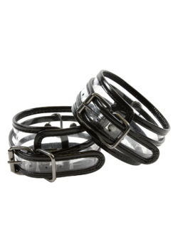 Transparent Wrist Cuffs by NS Novelties
