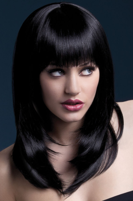 Tanja Black Wig by Fever