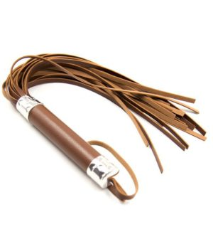 Brown Leather Whip