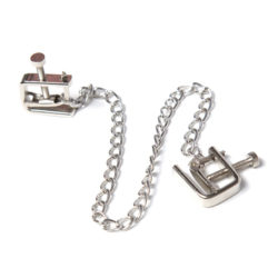 Chained Nipple Vises by Wicked Rabbit