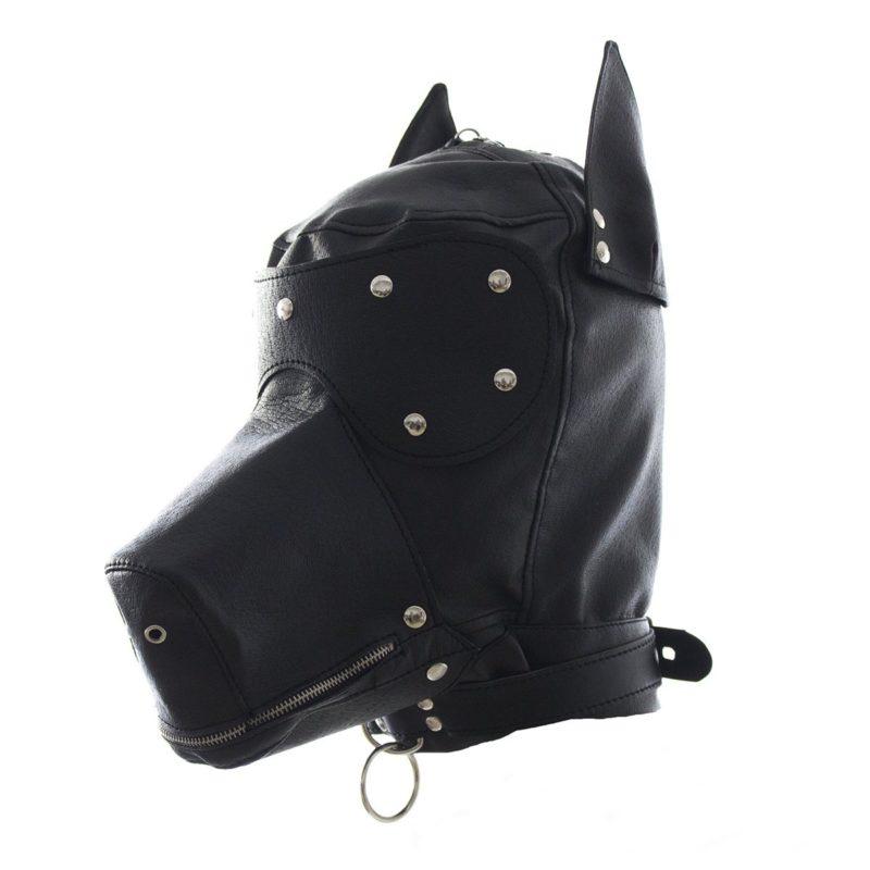 Dog Bondage Hood by Wicked Rabbit