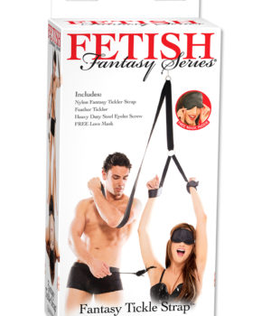 Fetish Fantasy Tickle Strap Harness