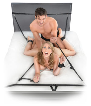 Fetish Fantasy Ultimate Bed Restraints System