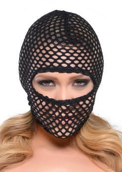 Fishnet Bondage Hood by Fetish Fantasy