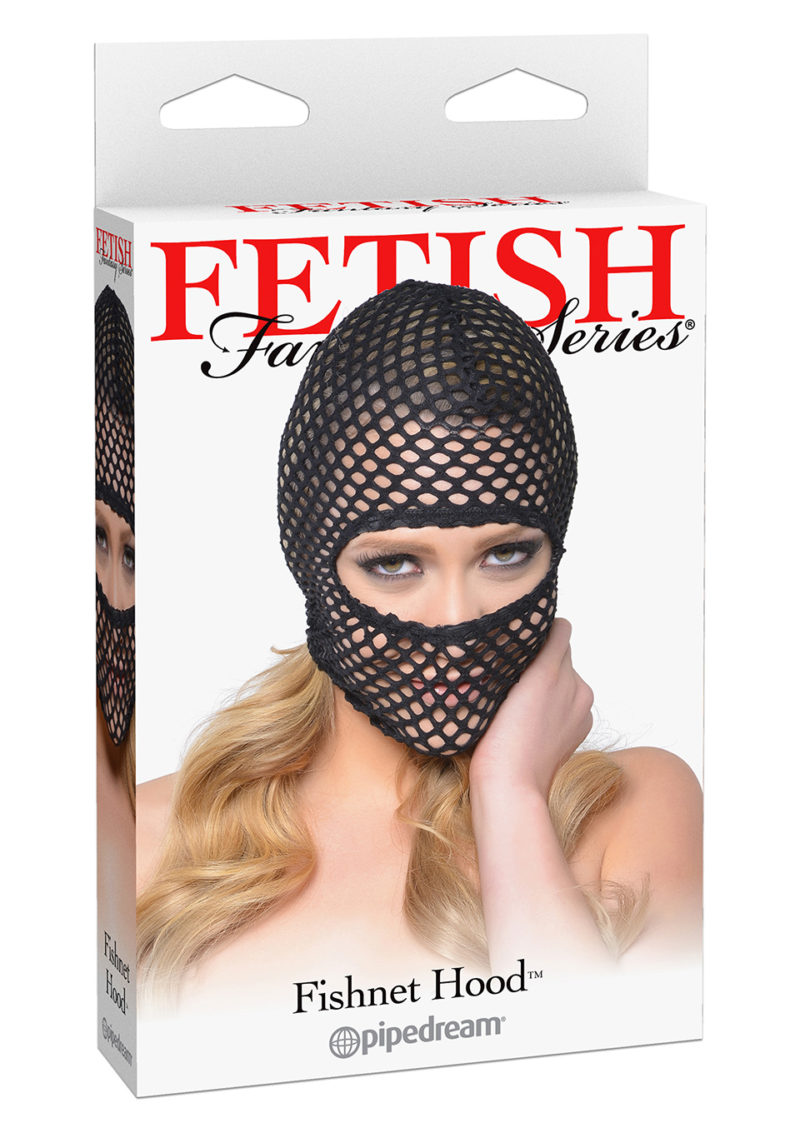 Fishnet Bondage Hood by Fetish Fantasy