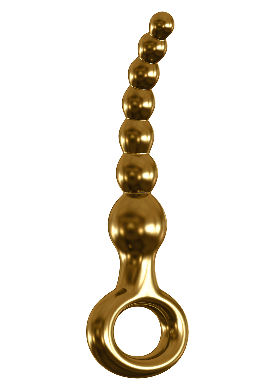 Icicles Gold Edition Anal Beads by Pipedream