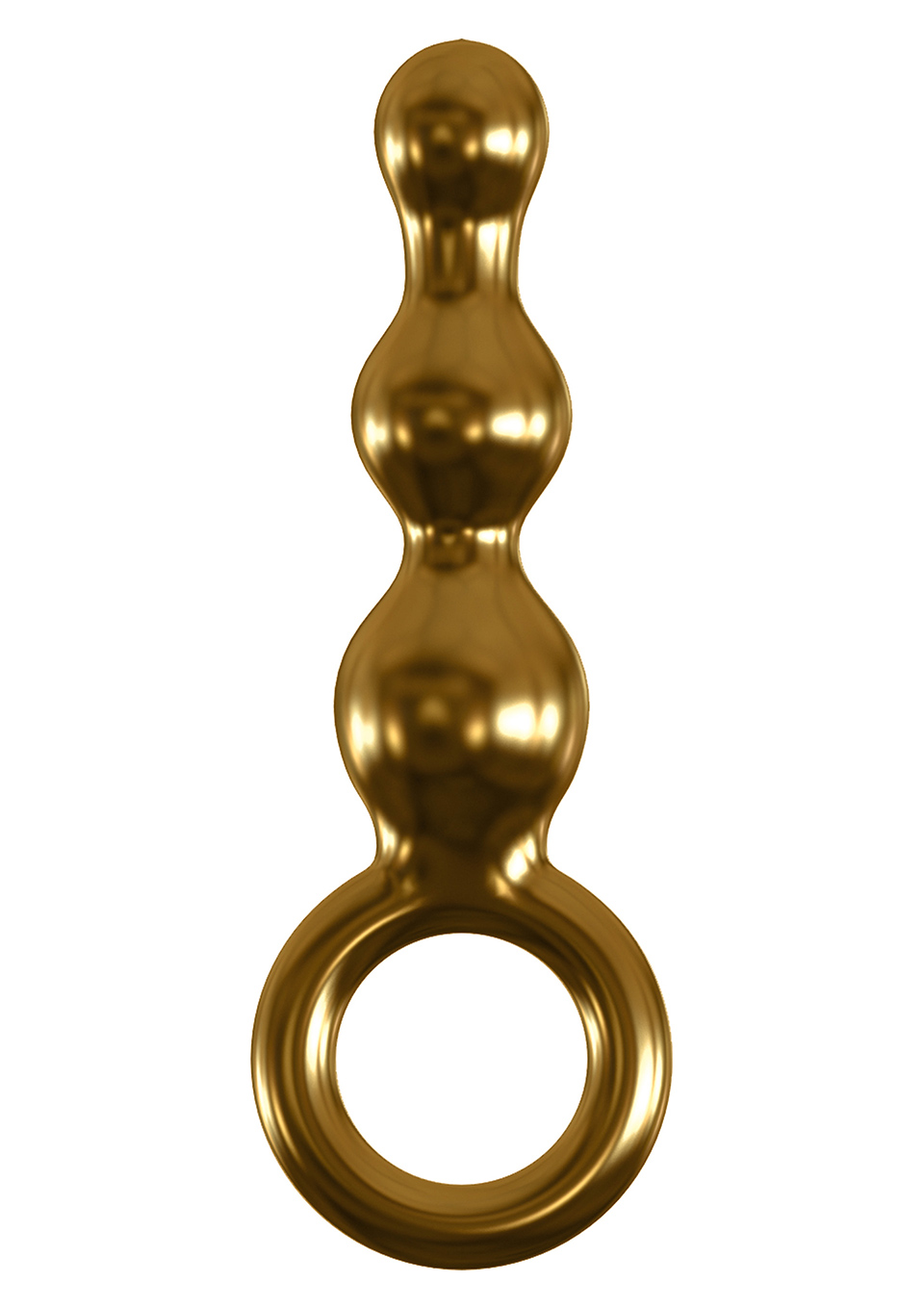 Icicles Gold Edition Short Anal Beads by Pipedream