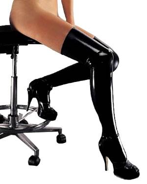 Latex Stockings by Sharon Sloane