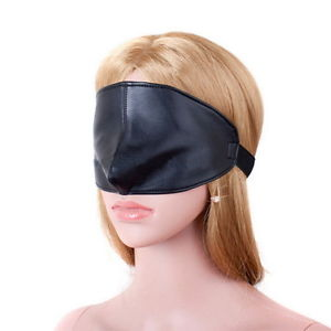 Leather Eye Mask by Wicked Rabbit