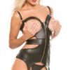 Peep Show Open Cup Corset by Allure