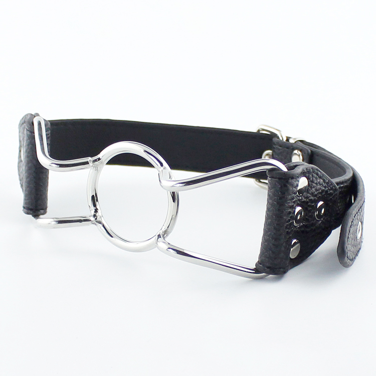Steel O-Ring Gag by Wicked Rabbit
