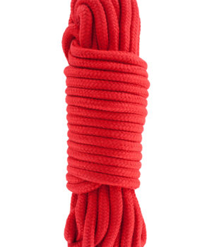10m Red Bondage Rope by Wicked Rabbit
