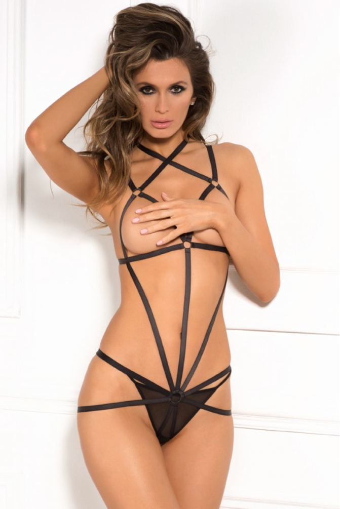 Wrapped In Lust Harness by Rene Rofe