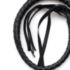 Braided Leather Whip